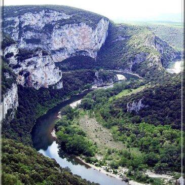 l'Ardèche, Vallon Pont d'Arc