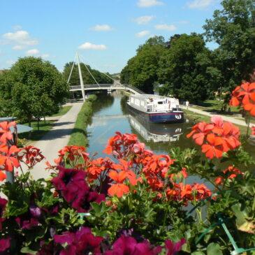 Le canal du centre (Bourgogne)