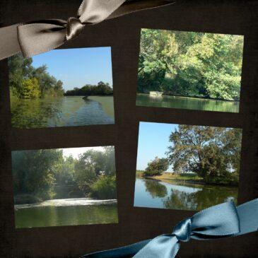 lumière d'automne en Val de Saône: Pont de Vaux et ses environs