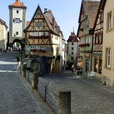 Allemagne 2013 : la route romantique de Bavière