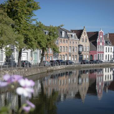 la Belgique et un aperçu du Nord de la France